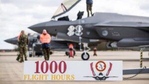 Lees meer over het artikel 1000 vlieguren F-35