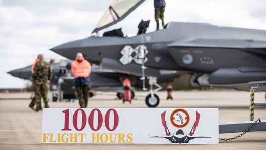 Je bekijkt nu 1000 vlieguren F-35