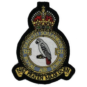 Patch 322 Squadron: 322 SQN King George