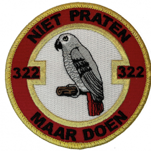 Patch 322 Squadron: 322 niet praten maar doen
